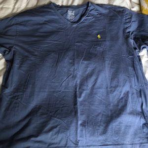 XL Polo V-neck T-Shirt EUC